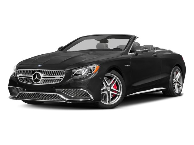 Obsidian Black Metallic 2017 Mercedes-Benz S-Class Pictures S-Class AMG S 65 Cabriolet photos front view