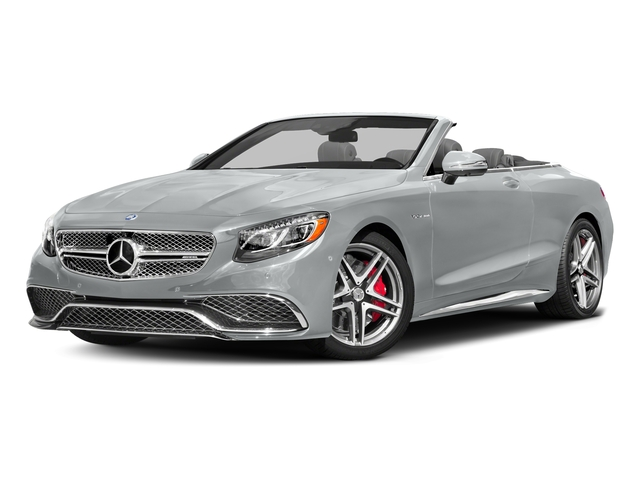 Iridium Silver Metallic 2017 Mercedes-Benz S-Class Pictures S-Class AMG S 65 Cabriolet photos front view