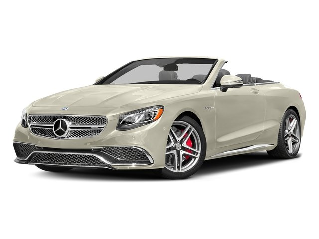 designo Diamond White Metallic 2017 Mercedes-Benz S-Class Pictures S-Class 2 Door Cabriolet photos front view
