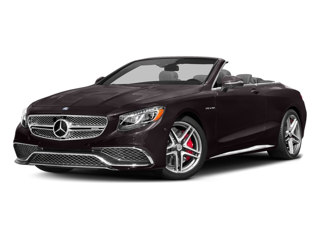 Ruby Black Metallic 2017 Mercedes-Benz S-Class Pictures S-Class AMG S 65 Cabriolet photos front view
