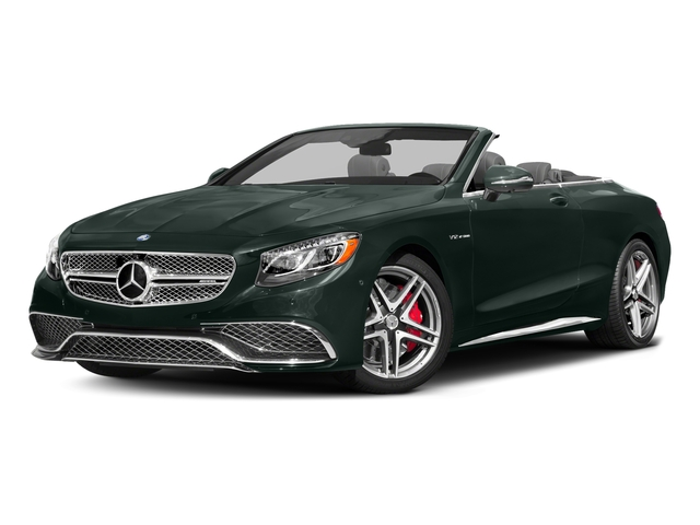 Emerald Green Metallic 2017 Mercedes-Benz S-Class Pictures S-Class AMG S 65 Cabriolet photos front view