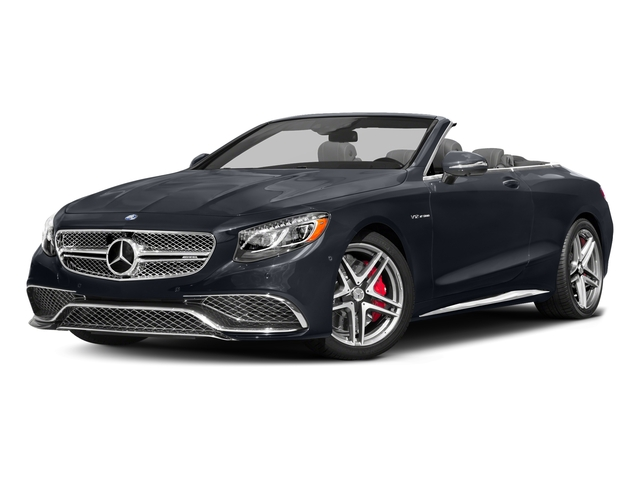 Anthracite Blue Metallic 2017 Mercedes-Benz S-Class Pictures S-Class 2 Door Cabriolet photos front view