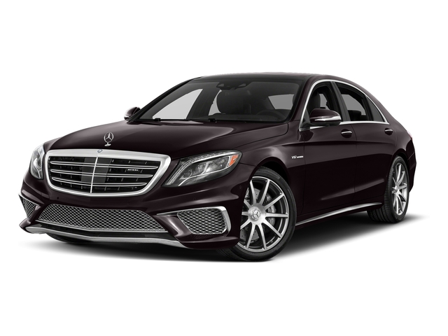 Ruby Black Metallic 2017 Mercedes-Benz S-Class Pictures S-Class 4 Door Sedan photos front view