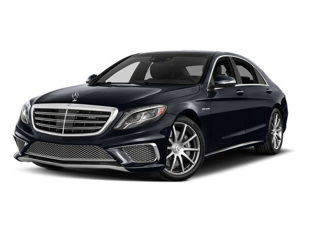 Anthracite Blue Metallic 2017 Mercedes-Benz S-Class Pictures S-Class 4 Door Sedan photos front view