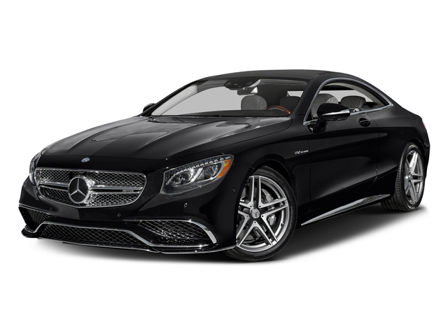 Black 2017 Mercedes-Benz S-Class Pictures S-Class 2 Door Coupe photos front view