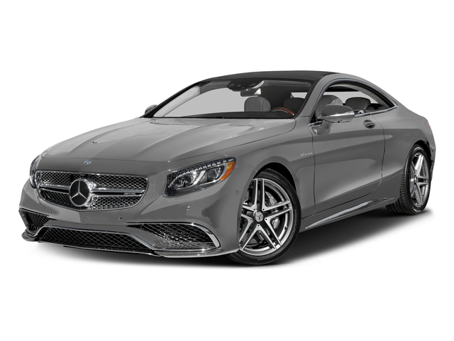 designo Magno Alanite Grey (Matte Finish) 2017 Mercedes-Benz S-Class Pictures S-Class 2 Door Coupe photos front view