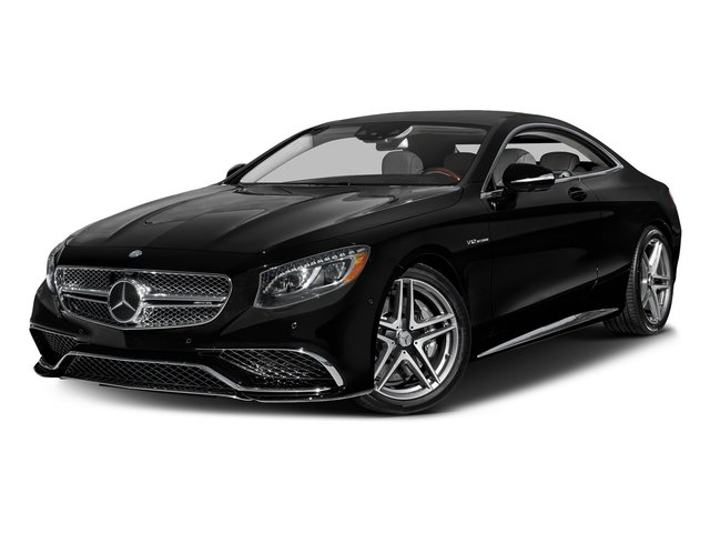 Obsidian Black Metallic 2017 Mercedes-Benz S-Class Pictures S-Class 2 Door Coupe photos front view