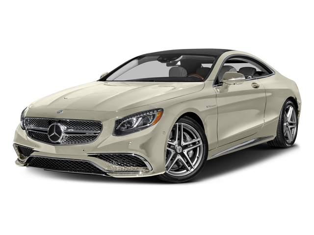 designo Diamond White Metallic 2017 Mercedes-Benz S-Class Pictures S-Class 2 Door Coupe photos front view