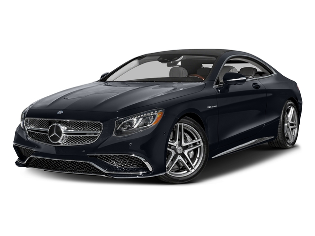 Anthracite Blue Metallic 2017 Mercedes-Benz S-Class Pictures S-Class 2 Door Coupe photos front view
