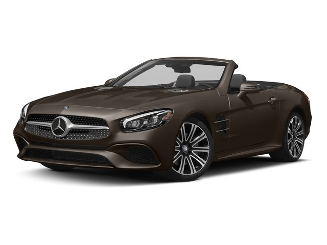 Dolomite Brown Metallic 2017 Mercedes-Benz SL Pictures SL Roadster 2D SL450 V6 Turbo photos front view