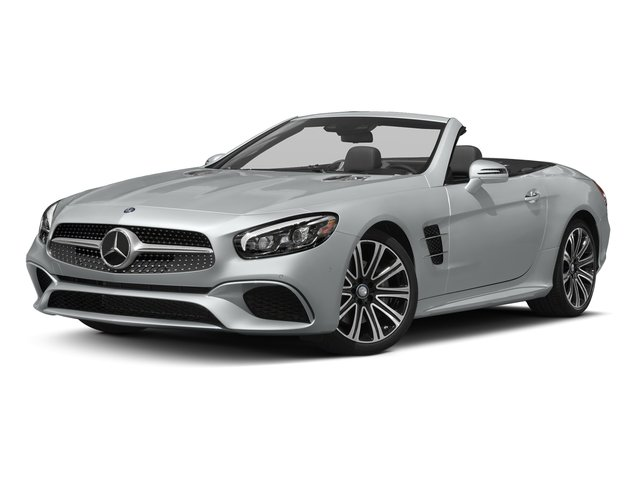 Iridium Silver Metallic 2017 Mercedes-Benz SL Pictures SL Roadster 2D SL450 V6 Turbo photos front view