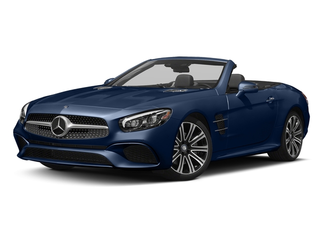 Brilliant Blue 2017 Mercedes-Benz SL Pictures SL Roadster 2D SL450 V6 Turbo photos front view