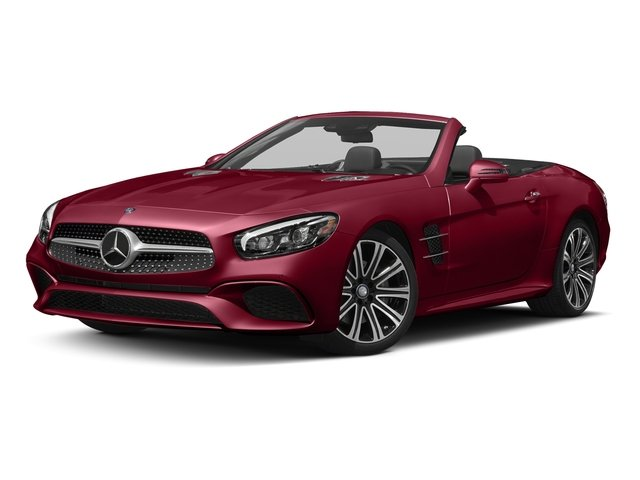designo Cardinal Red Metallic 2017 Mercedes-Benz SL Pictures SL Roadster 2D SL450 V6 Turbo photos front view
