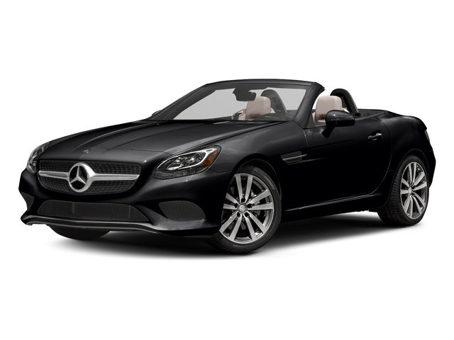 Black 2017 Mercedes-Benz SLC Pictures SLC Roadster 2D SLC300 I4 Turbo photos front view
