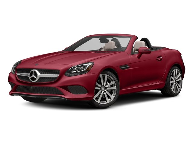 Mars Red 2017 Mercedes-Benz SLC Pictures SLC Roadster 2D SLC300 I4 Turbo photos front view