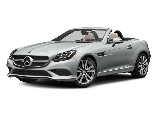Iridium Silver Metallic 2017 Mercedes-Benz SLC Pictures SLC Roadster 2D SLC300 I4 Turbo photos front view