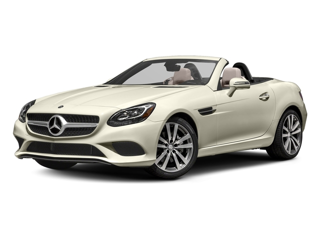 designo Diamond White Metallic 2017 Mercedes-Benz SLC Pictures SLC Roadster 2D SLC300 I4 Turbo photos front view