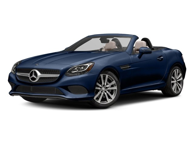 Brilliant Blue Metallic 2017 Mercedes-Benz SLC Pictures SLC Roadster 2D SLC300 I4 Turbo photos front view