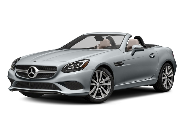 Diamond Silver Metallic 2017 Mercedes-Benz SLC Pictures SLC Roadster 2D SLC300 I4 Turbo photos front view