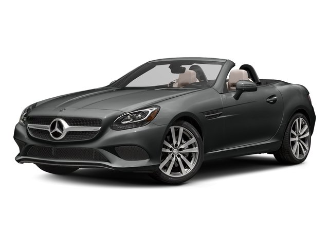Selenite Grey Metallic 2017 Mercedes-Benz SLC Pictures SLC Roadster 2D SLC300 I4 Turbo photos front view