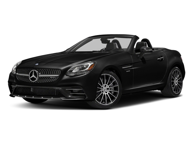 Obsidian Black Metallic 2017 Mercedes-Benz SLC Pictures SLC AMG SLC 43 Roadster photos front view