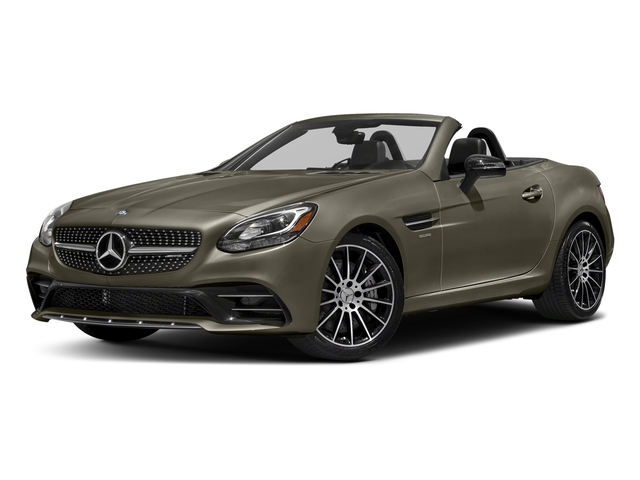 Indium Grey Metallic 2017 Mercedes-Benz SLC Pictures SLC AMG SLC 43 Roadster photos front view