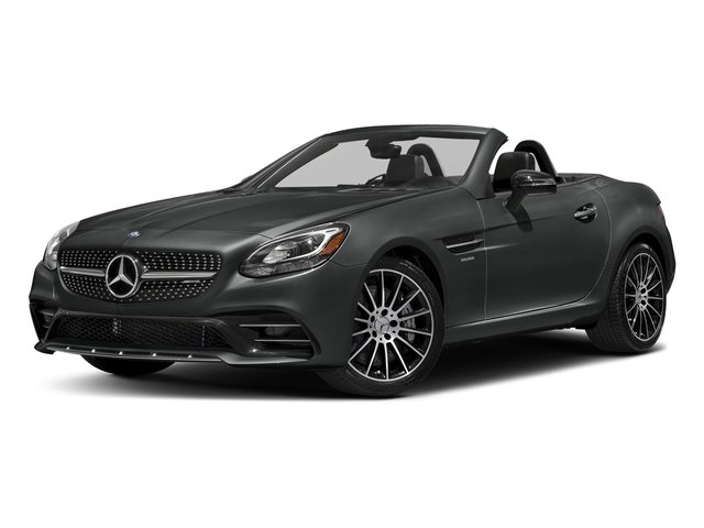 Selenite Grey Metallic 2017 Mercedes-Benz SLC Pictures SLC AMG SLC 43 Roadster photos front view