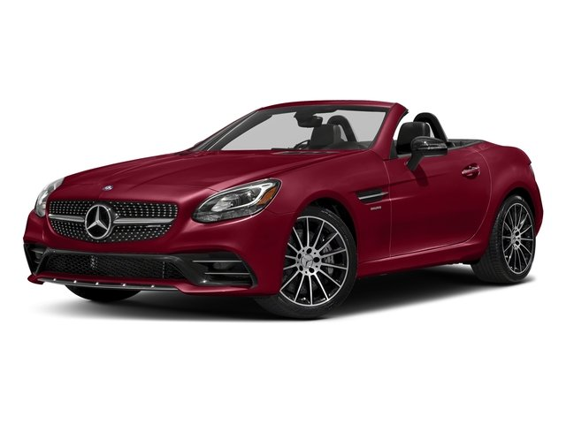 designo Cardinal Red Metallic 2017 Mercedes-Benz SLC Pictures SLC AMG SLC 43 Roadster photos front view