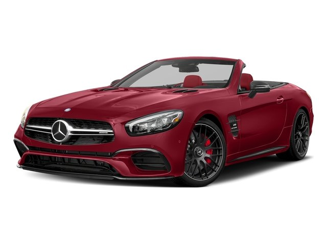 Mars Red 2017 Mercedes-Benz SL Pictures SL AMG SL 63 Roadster photos front view