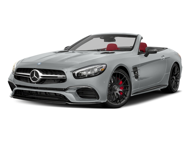 Iridium Silver Metallic 2017 Mercedes-Benz SL Pictures SL AMG SL 63 Roadster photos front view