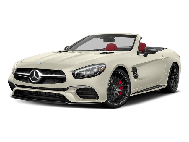 designo Diamond White Metallic 2017 Mercedes-Benz SL Pictures SL AMG SL 63 Roadster photos front view