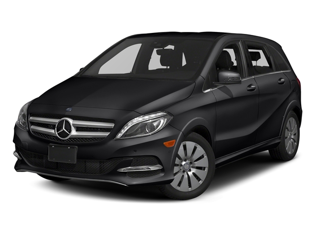 Cosmos Black Metallic 2017 Mercedes-Benz B-Class Pictures B-Class B 250e Hatchback photos front view
