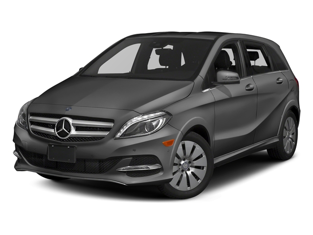 designo Mountain Grey Magno (Matte Finish) 2017 Mercedes-Benz B-Class Pictures B-Class B 250e Hatchback photos front view