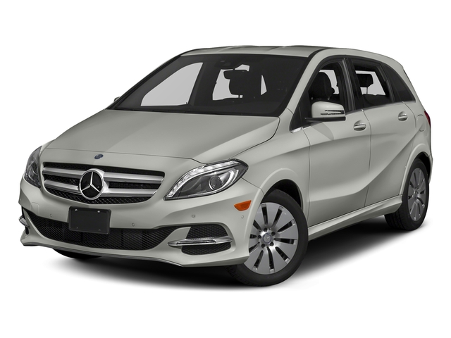 Polar Silver Metallic 2017 Mercedes-Benz B-Class Pictures B-Class B 250e Hatchback photos front view