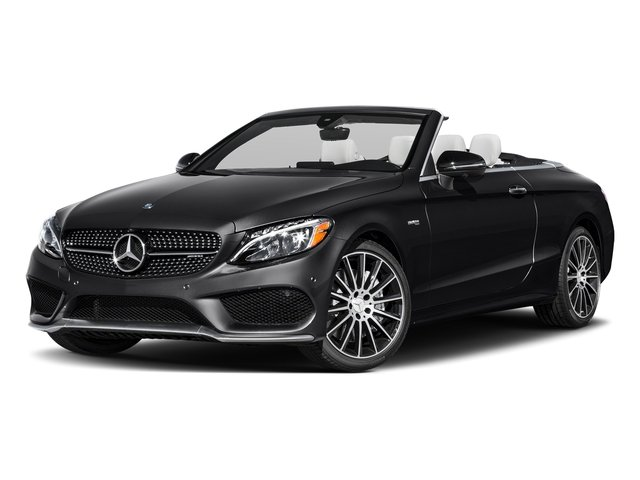 Black 2017 Mercedes-Benz C-Class Pictures C-Class AMG C 43 4MATIC Cabriolet photos front view