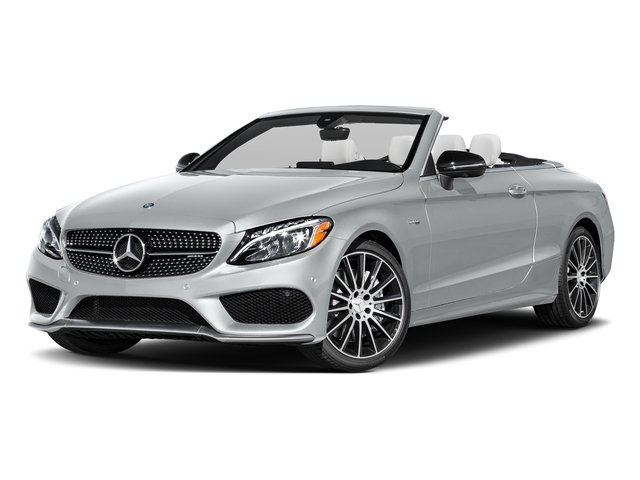 Iridium Silver Metallic 2017 Mercedes-Benz C-Class Pictures C-Class AMG C 43 4MATIC Cabriolet photos front view