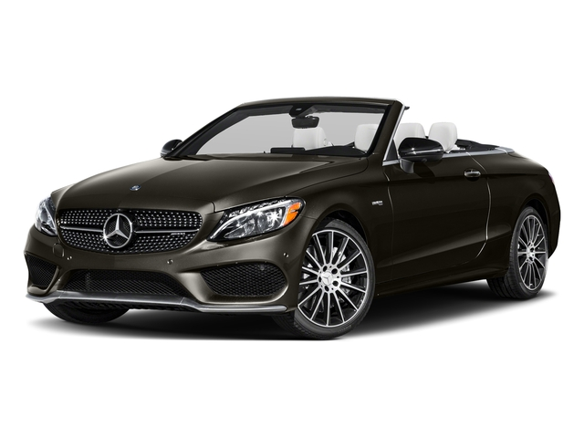 Dakota Brown Metallic 2017 Mercedes-Benz C-Class Pictures C-Class AMG C 43 4MATIC Cabriolet photos front view