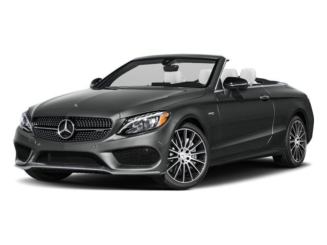Selenite Grey Metallic 2017 Mercedes-Benz C-Class Pictures C-Class AMG C 43 4MATIC Cabriolet photos front view