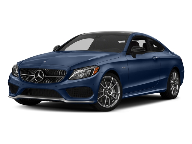 Brilliant Blue Metallic 2017 Mercedes-Benz C-Class Pictures C-Class Coupe 2D C43 AMG AWD V6 Turbo photos front view