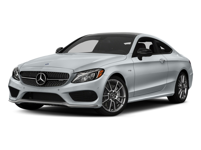 Diamond Silver Metallic 2017 Mercedes-Benz C-Class Pictures C-Class AMG C 43 4MATIC Coupe photos front view