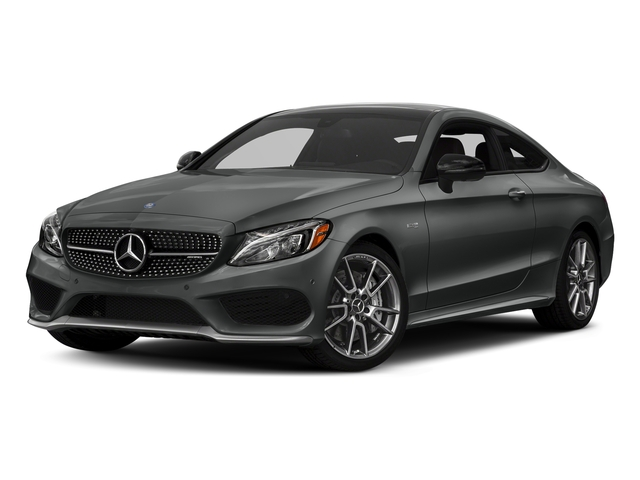 Selenite Grey Metallic 2017 Mercedes-Benz C-Class Pictures C-Class Coupe 2D C43 AMG AWD V6 Turbo photos front view