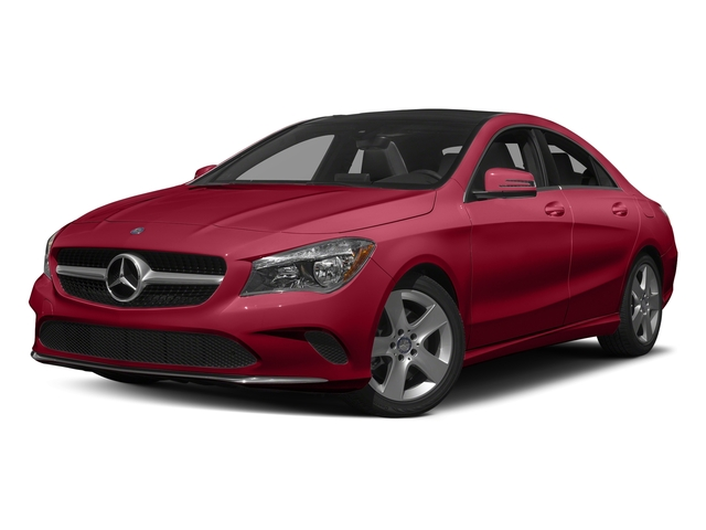 Jupiter Red 2017 Mercedes-Benz CLA Pictures CLA Sedan 4D CLA250 I4 Turbo photos front view