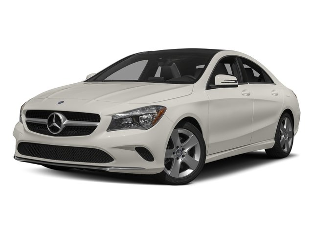 Cirrus White 2017 Mercedes-Benz CLA Pictures CLA Sedan 4D CLA250 I4 Turbo photos front view