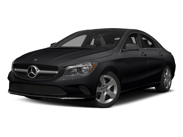 Night Black 2017 Mercedes-Benz CLA Pictures CLA Sedan 4D CLA250 I4 Turbo photos front view
