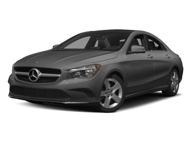 Mountain Grey Metallic 2017 Mercedes-Benz CLA Pictures CLA Sedan 4D CLA250 I4 Turbo photos front view