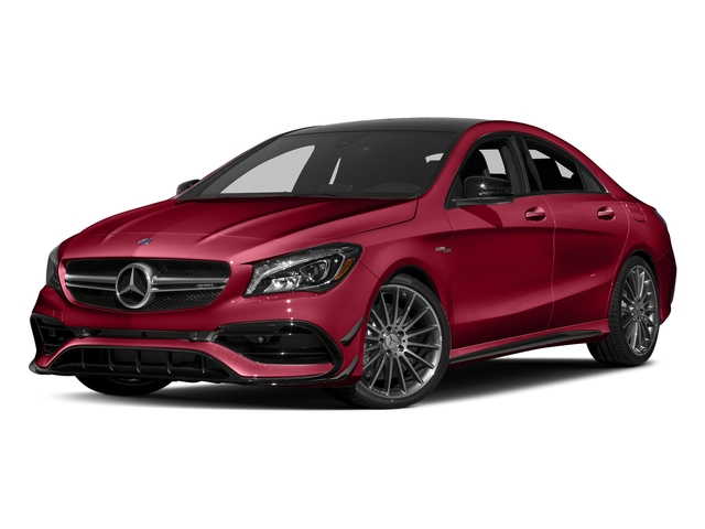 Jupiter Red 2017 Mercedes-Benz CLA Pictures CLA Sedan 4D CLA45 AMG AWD I4 Turbo photos front view