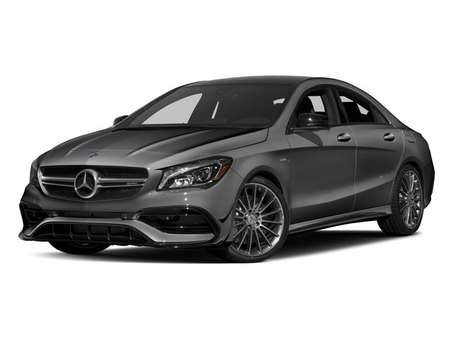 Mountain Grey Metallic 2017 Mercedes-Benz CLA Pictures CLA Sedan 4D CLA45 AMG AWD I4 Turbo photos front view
