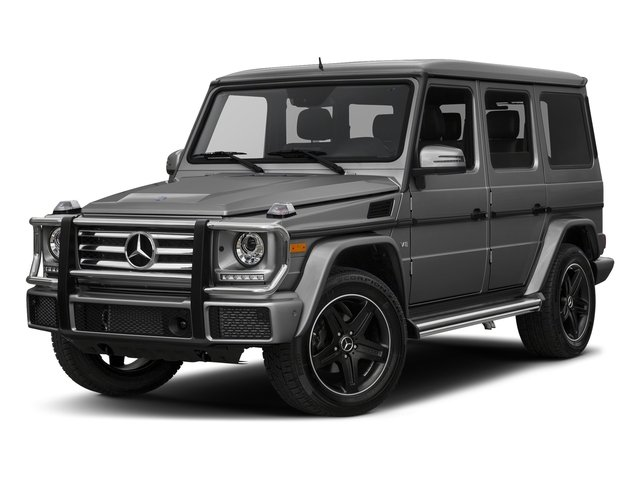 designo Graphite 2017 Mercedes-Benz G-Class Pictures G-Class G 550 4MATIC SUV photos front view