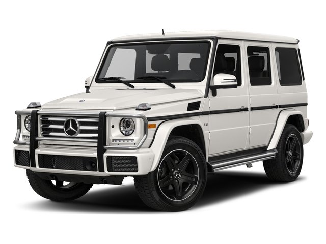 designo Mystic White Metallic 2017 Mercedes-Benz G-Class Pictures G-Class 4 Door Utility 4Matic photos front view
