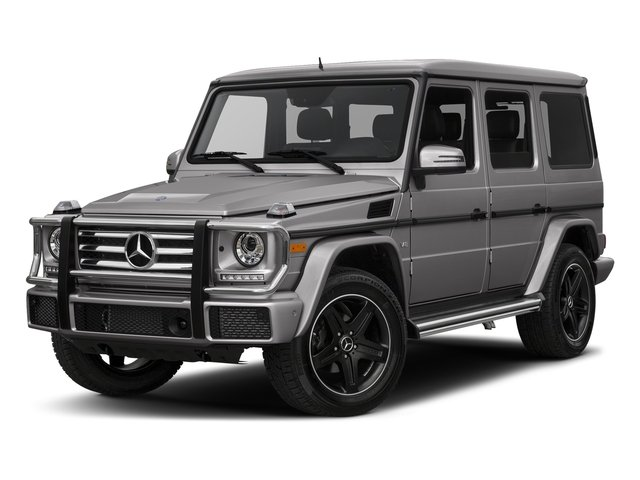 designo Magno Platinum (Matte Finish) 2017 Mercedes-Benz G-Class Pictures G-Class 4 Door Utility 4Matic photos front view